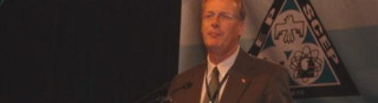 6ieme Congrès National de notre syndicat le SCEP  – Le président Payne trace la voie de l'avenir du SCEP