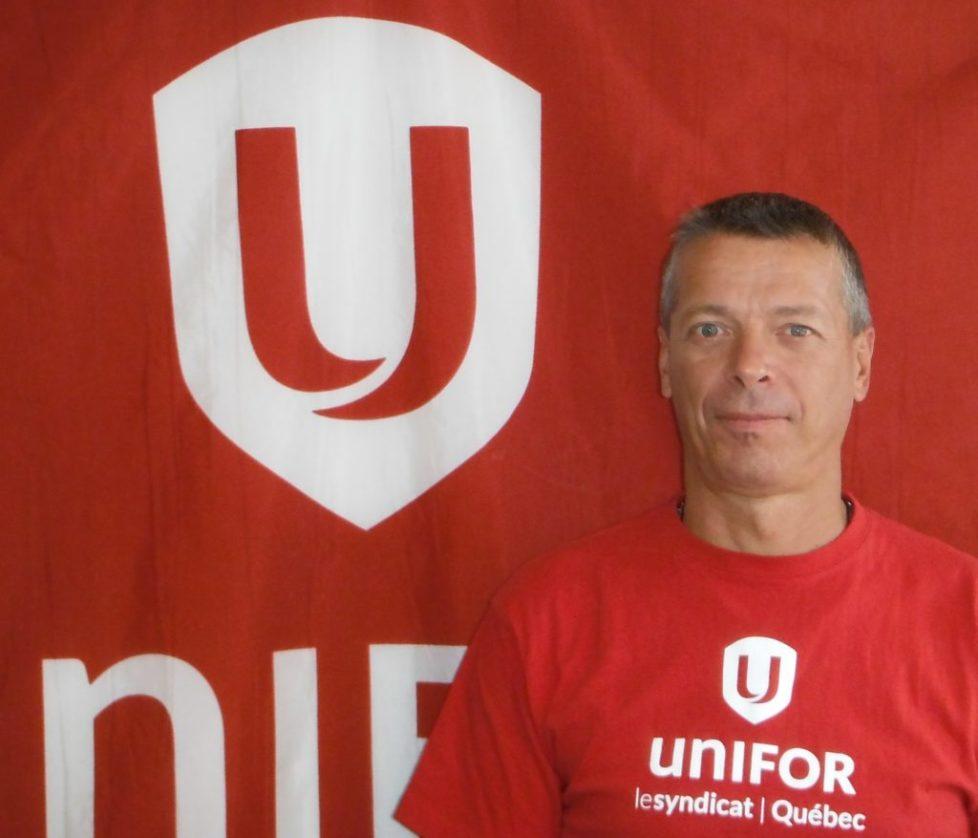 Donald Lecours, directeur secteur industriel, Unifor section locale 145