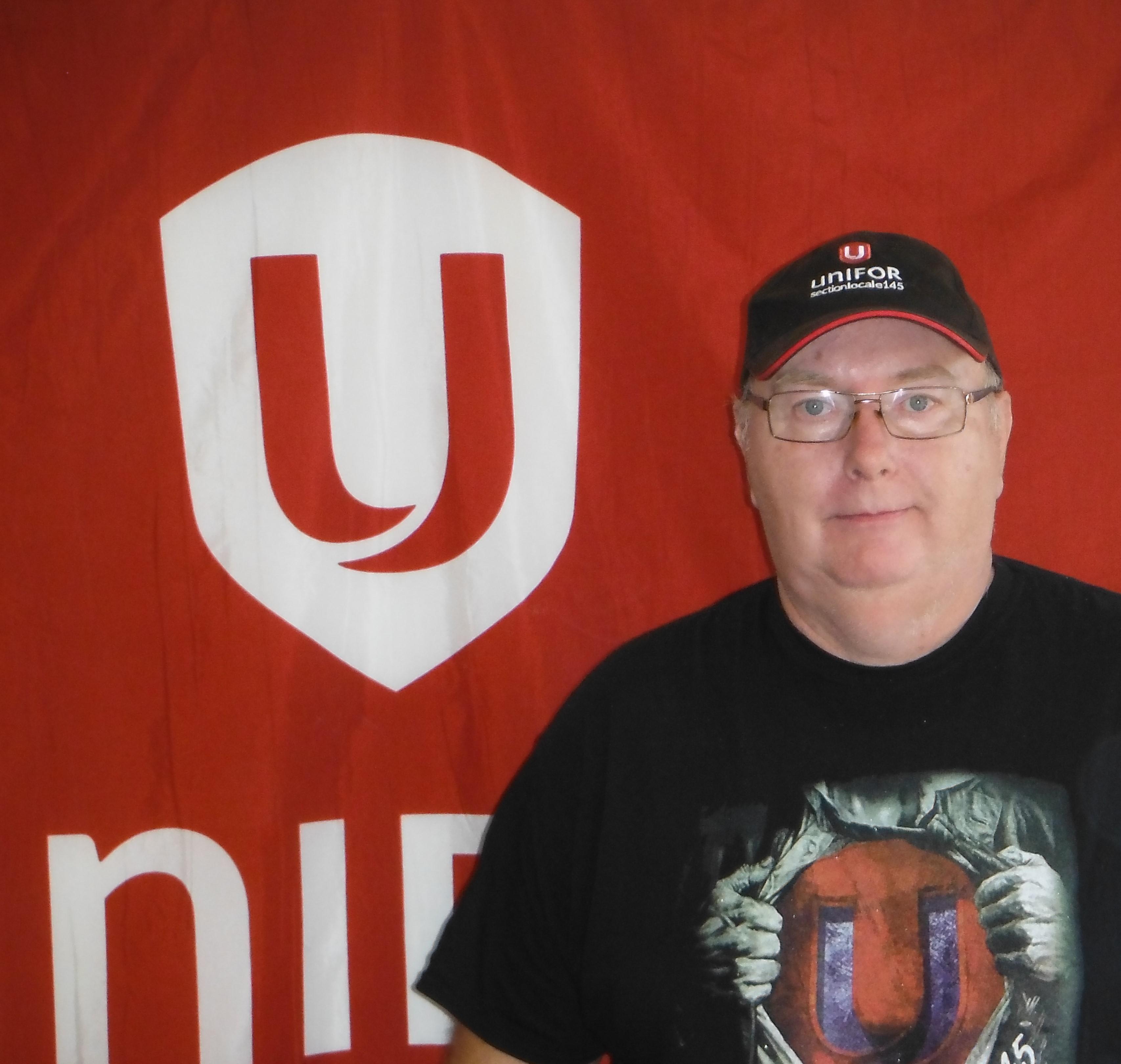 Denis Sarrazin, Secrétaire-trésorier, Unifor section locale 145