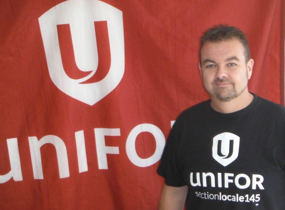 Stéphane Daigneault, Président, Unifor section locale 145