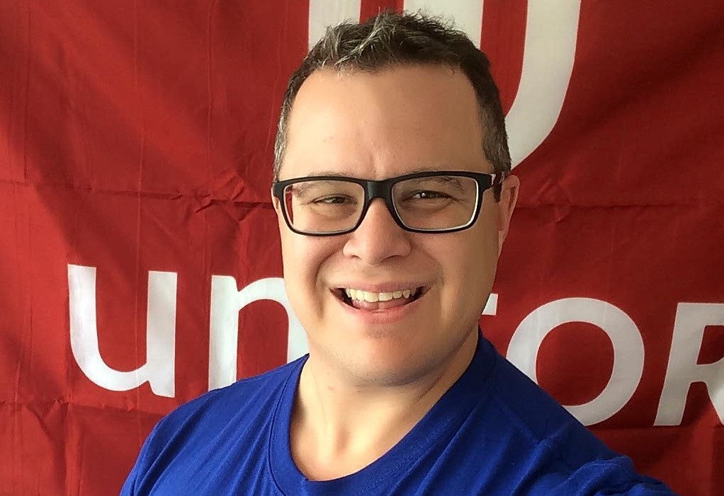 Yannick Blais, Vice-président, Unifor section locale 145